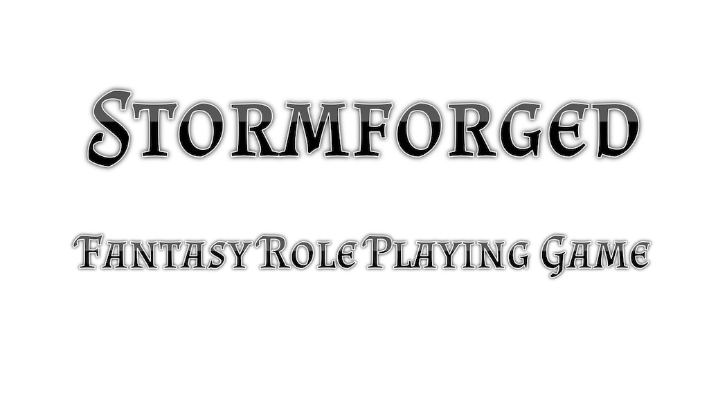 Project image for Stormforged: Fantasy Tabletop RPG