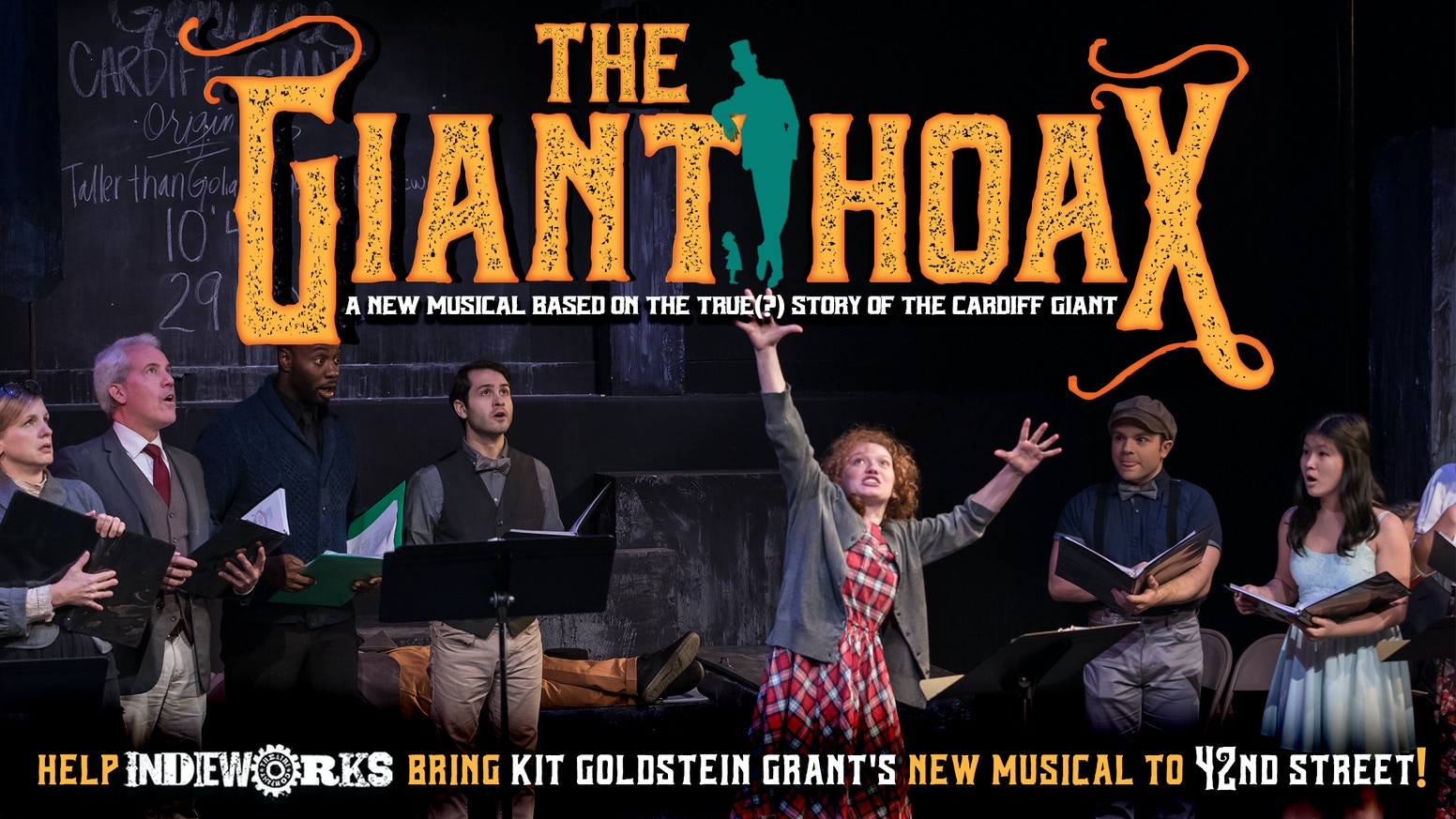 IndieWorks' first main stage production of Kit Goldstein Grant's imaginative new musical comes to 42nd Street in New York this fall!