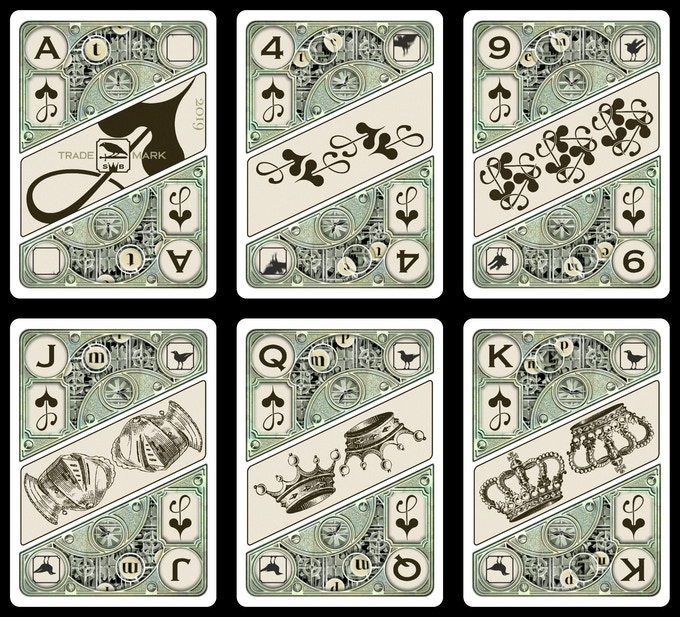 A Sample of the Spade Cards