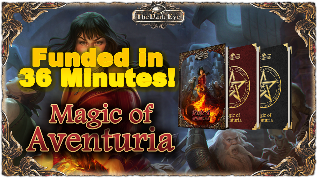 The Dark Eye - Magic of Aventuria project video thumbnail