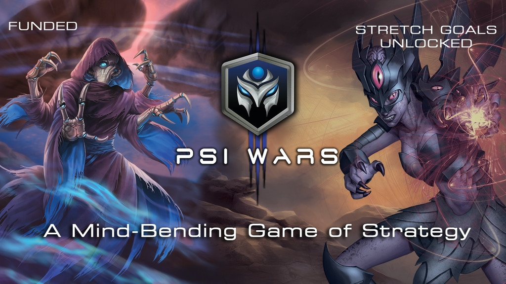 Psi Wars: A Mind-Bending Game of Strategy project video thumbnail