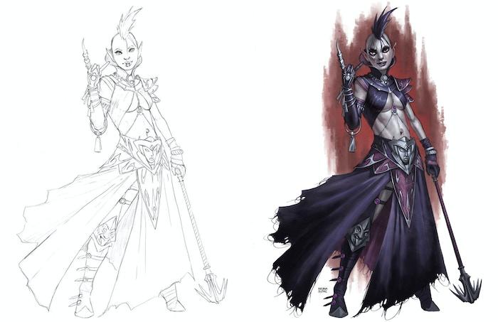 Spider Temple Priestess