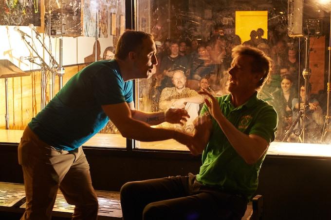 Om Grown Variety Show, Victor Verhaeghe and Matt Higgins, Photo by Cristobal Vivar