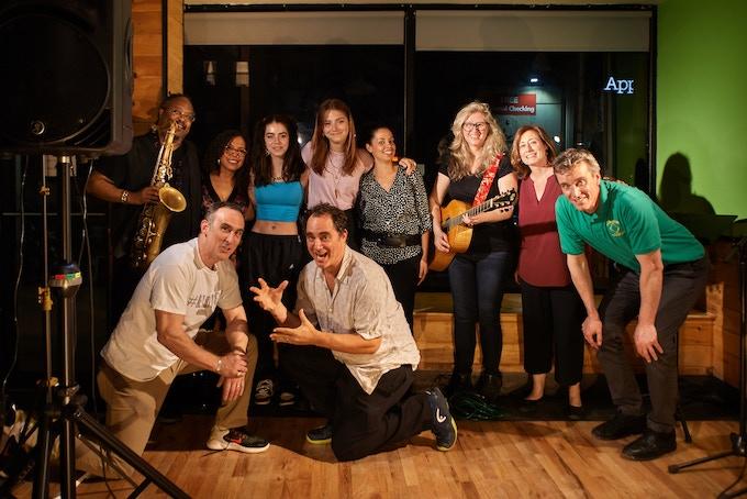 Om Grown Variety Show Full Cast! Photo by Cristobal Vivar