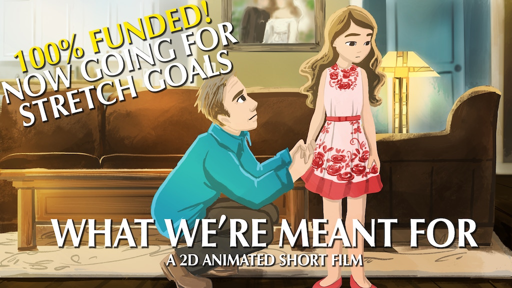 WHAT WE'RE MEANT FOR - A 2D Animated Short Film project video thumbnail