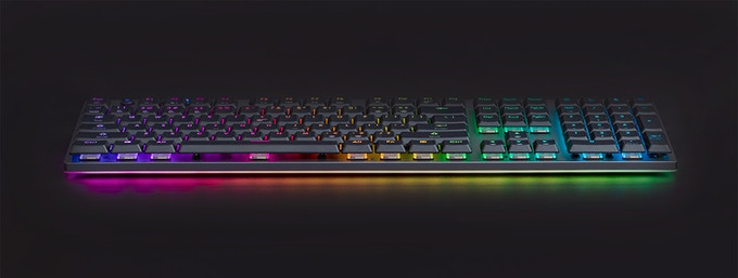 Venture Mechanical Keyboard with Full RGB Lighting