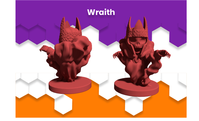 Anime Mini Wraith Monster