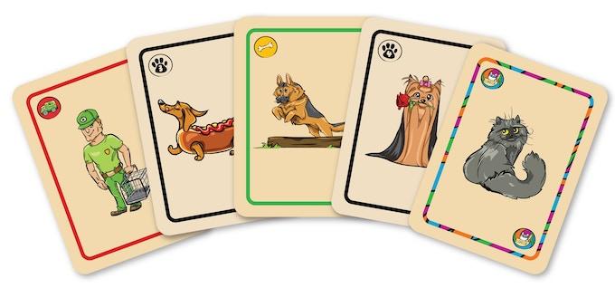 Top Dog Card Types