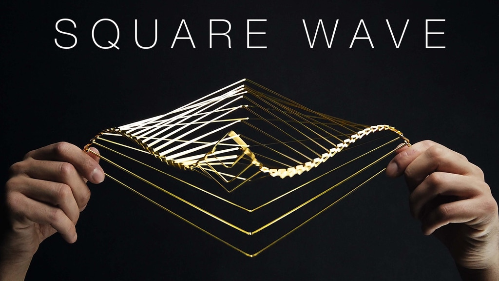 SQUARE WAVE | the Mind-Bending Kinetic Spinner project video thumbnail
