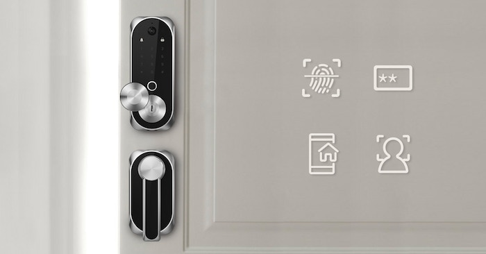 Built-in Camera | APP Controlled | Facial Recognition | 2-Way Audio | Fingerprint Scanning | ANSI\BHMA Certificated | Easy Installation