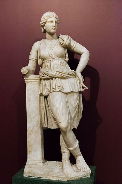 An ancient Roman copy of a Greek statue depicting Artemis (minus her bow, probably thanks to some Vandal). She will unlock if the project reaches the heady heights of £10k.