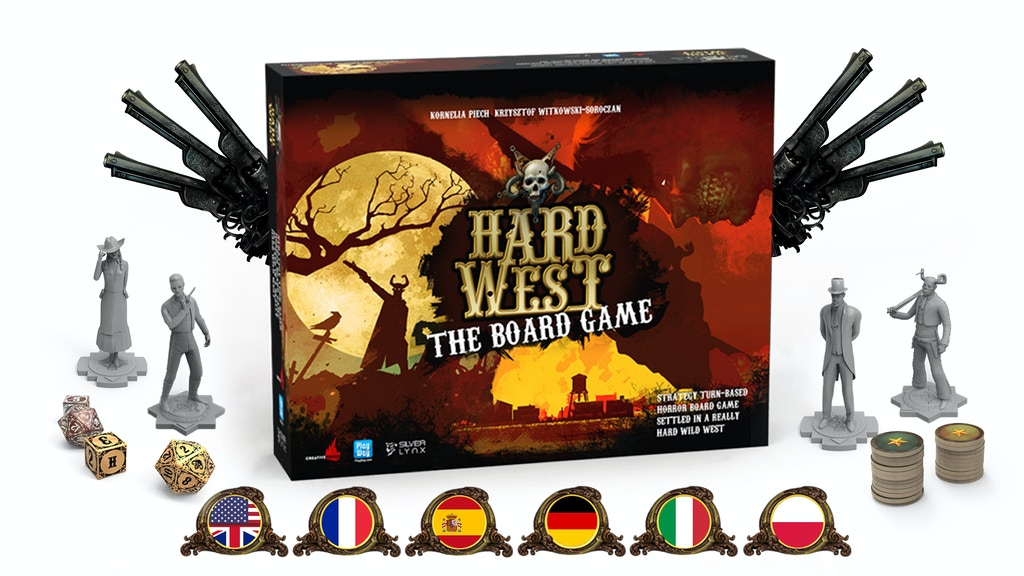Hard West ⏤ The Board Game