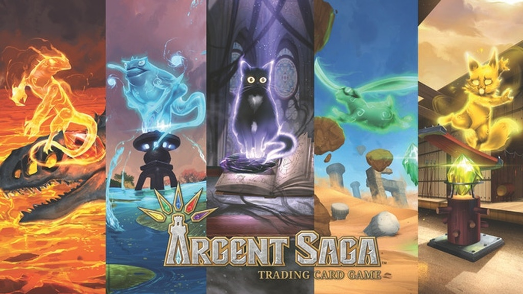 Argent Saga Trading Card Game project video thumbnail