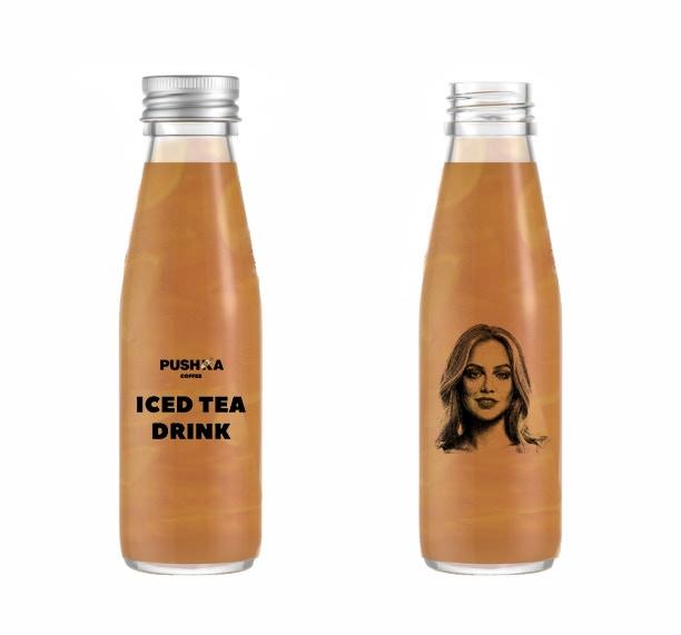 «Pushka coffee» Iced Tea Bottle