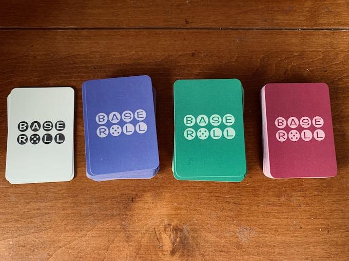 base card, player deck, coach's calls, player deck