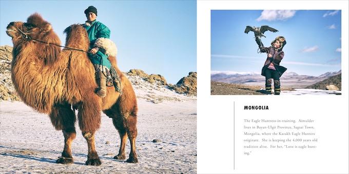 Winter on the Mongolian steppe. Photos: Khasar Sandag