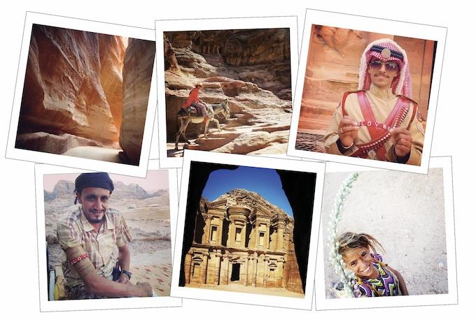 Cave-hopping in Petra, Jordan. iPhone 5 Photos: Chrissie Lam