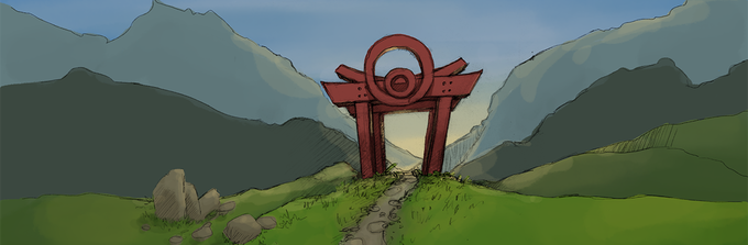 The Gate into Temple Valley