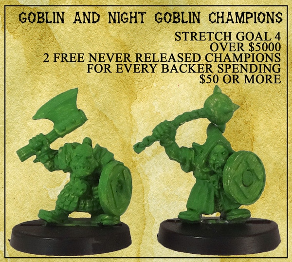 Goblin and Night Goblin Champions