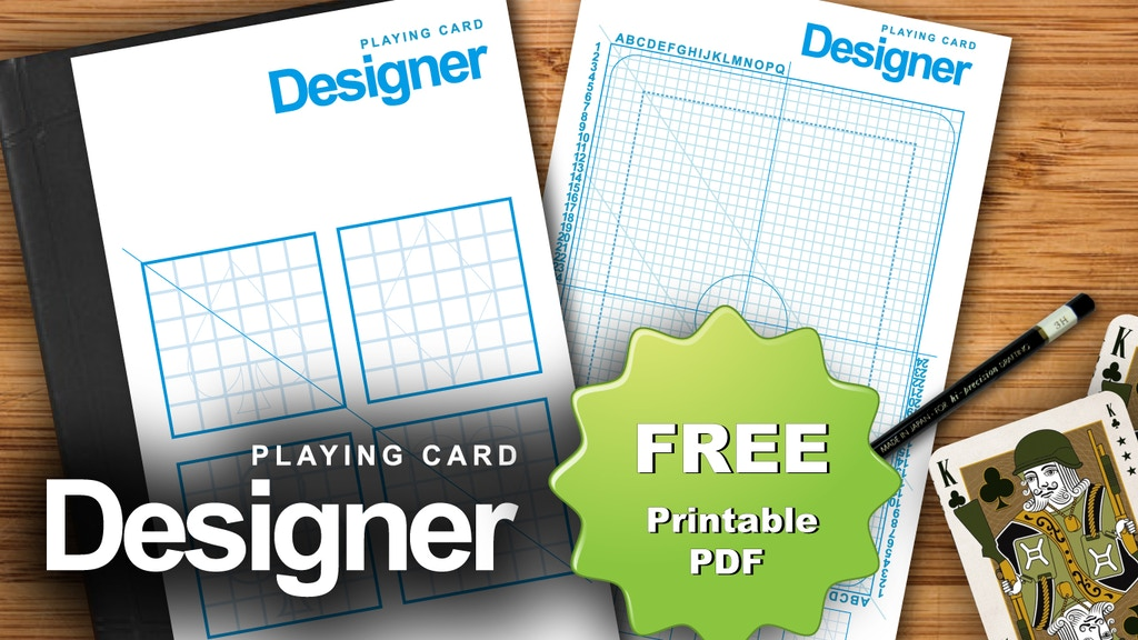 Project image for Playing Card & Suits Sketch Pad - PAY WHAT YOU WANT (Suspended)