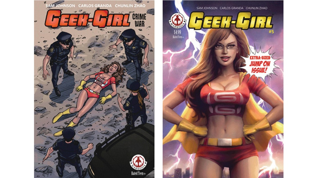 Geek-Girl: Crime War TPB, and School's Out: A New Direction! project video thumbnail