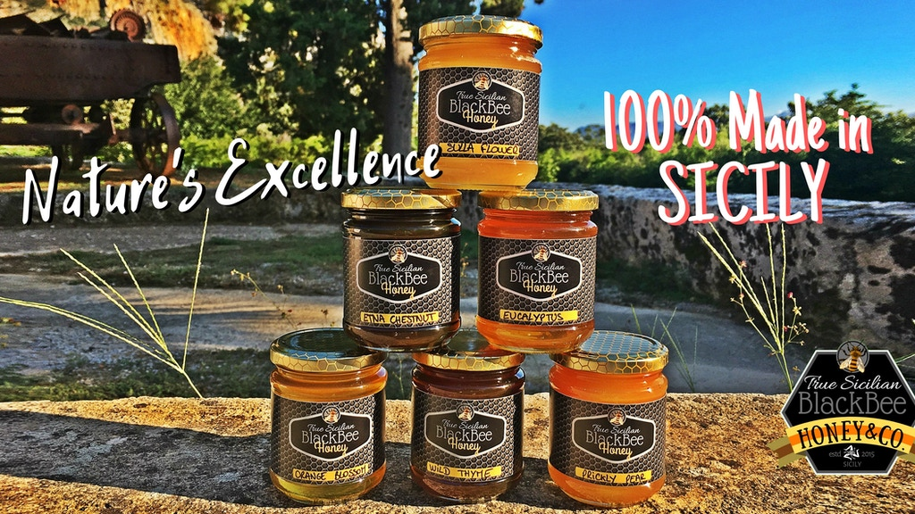 True Sicilian BlackBee Honey - Season 2019