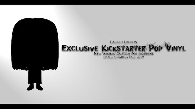 "Exclusive Kickstarter Custom ""Amelia Sky"" Pop Figurine"