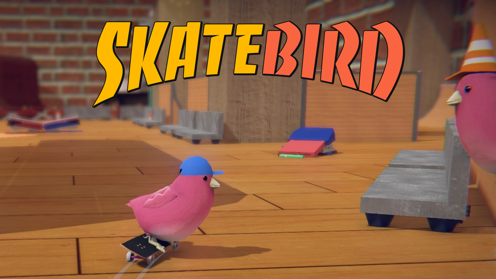 SkateBIRD: Be a skateboarding bird! project video thumbnail