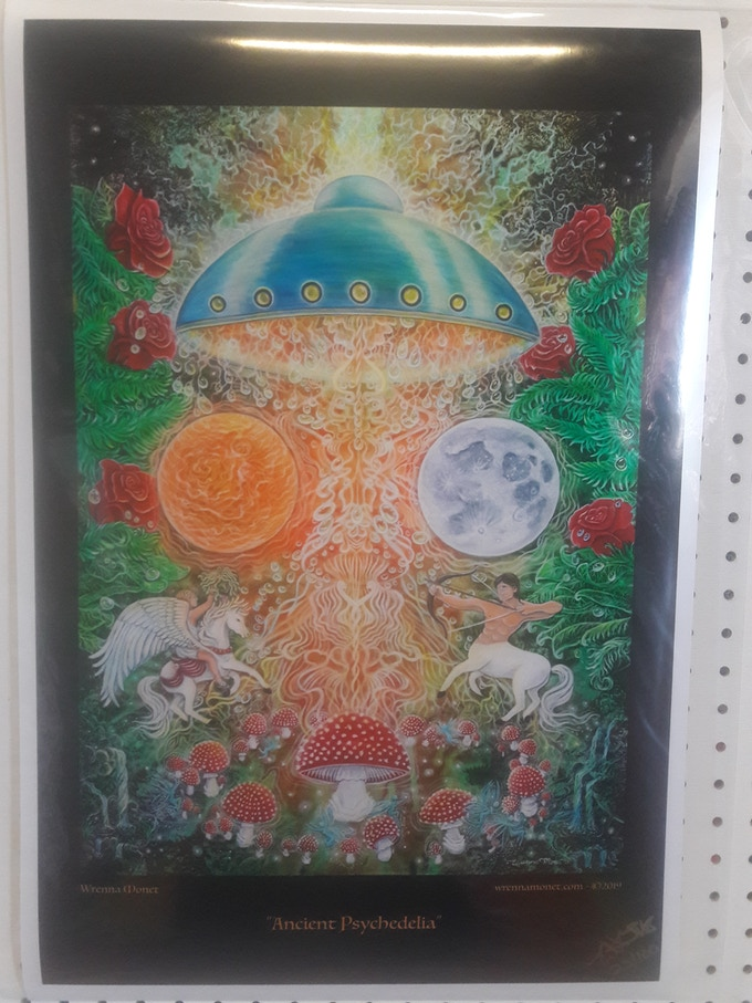 Limited Edition Signed and Numbered (100) Poster of the Book Cover Artwork by Wrenna Monet