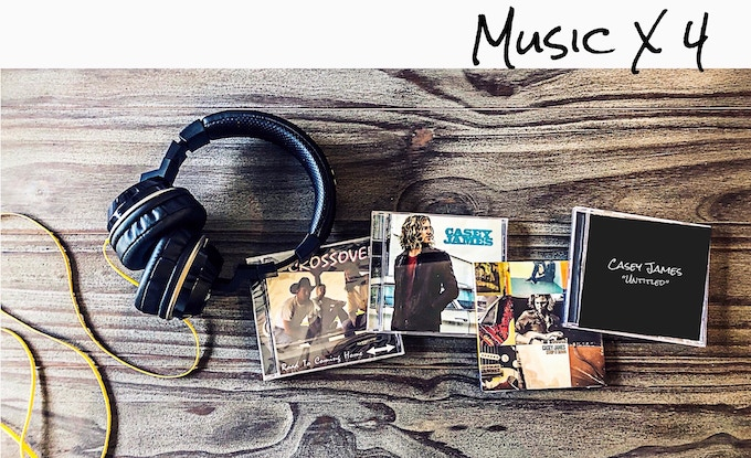 "Crossover, Casey James ""Self Titled"" Album, Strip It Down, New Album (you are helping make possible) Headphones not included ;)"