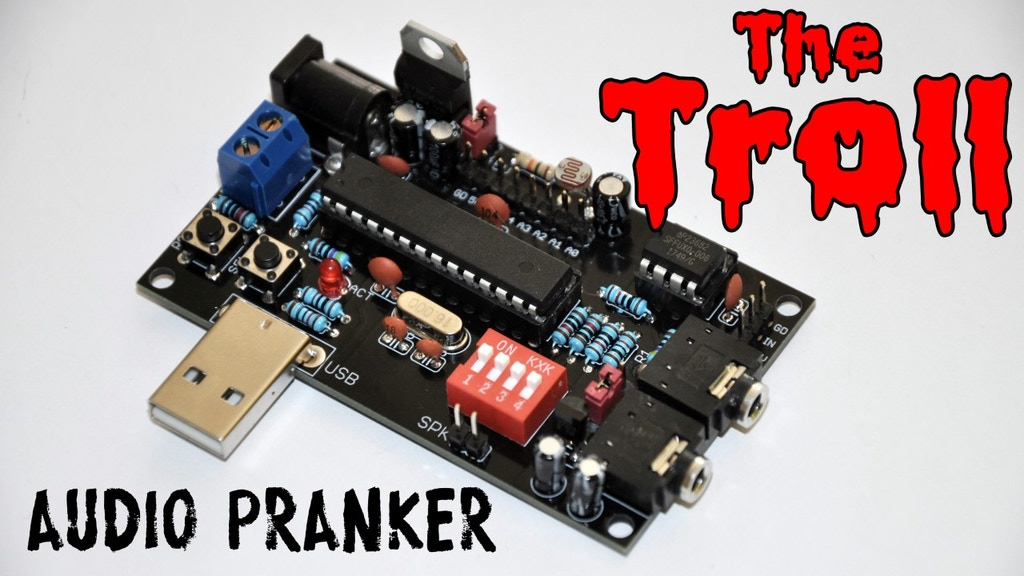 THE TROLL - An Arduino Compatible Practical Joke! project video thumbnail