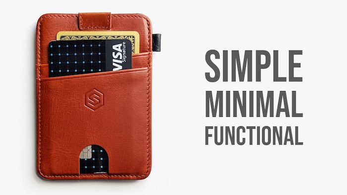 Slim & Secure Wallet With Elastic Strap, Premium Durable Leather, RFID Blocking, Convenient pull-out strap, Designed for Functionality