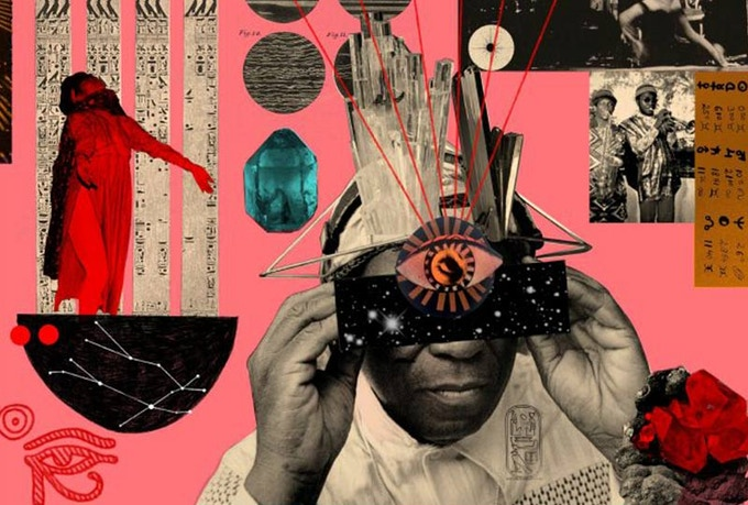 Musician and poet Sun Ra was  a resident of Bronzeville in the 1950's