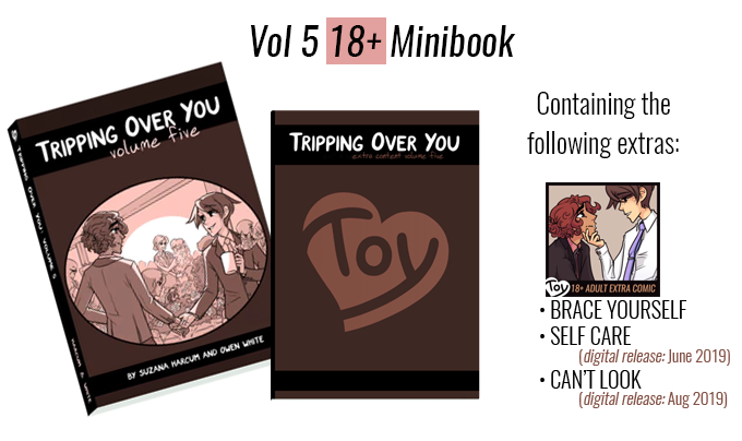 THE NEW 18+ MINIBOOK FOR VOLUME 5