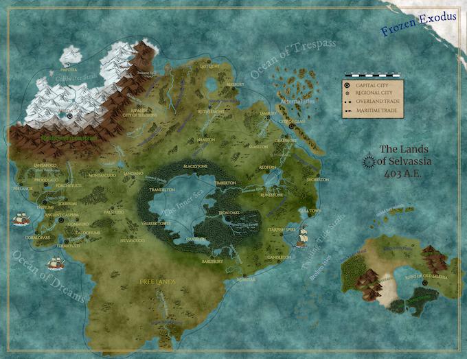 Lands of Selvassia