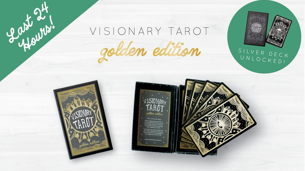 Visionary Tarot: Golden Edition project video thumbnail