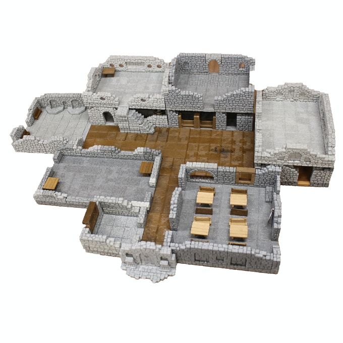 Thieves' Guild, First & Second Floor