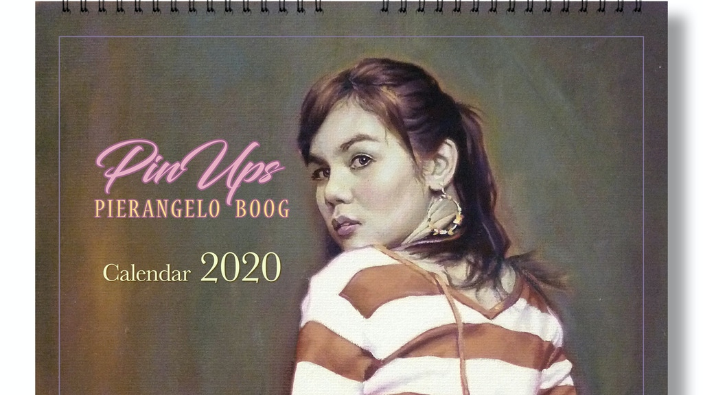 Pin Up Calendar 2020 . Limited and signed edition! project video thumbnail