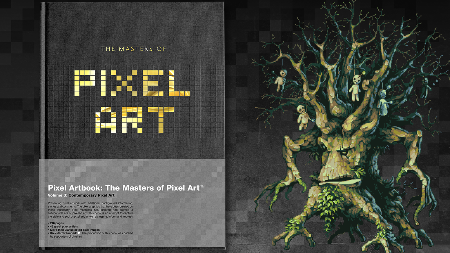 The third pixel art book - featuring some of the best contemporary pixel art from the next generation of artists.