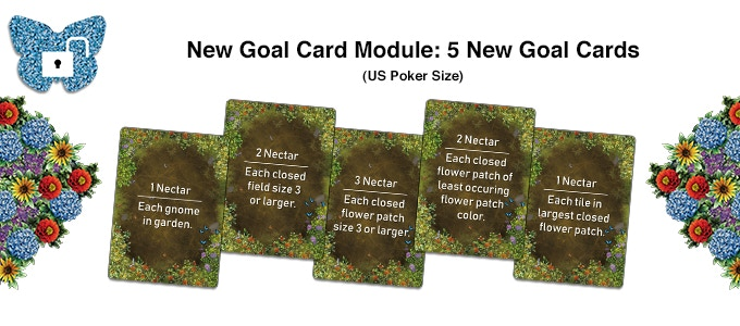 Another way to gather nectar for your games with these goal cards!