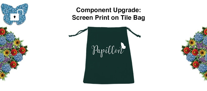 An upgraded tile bag for all those beautiful flower tiles!