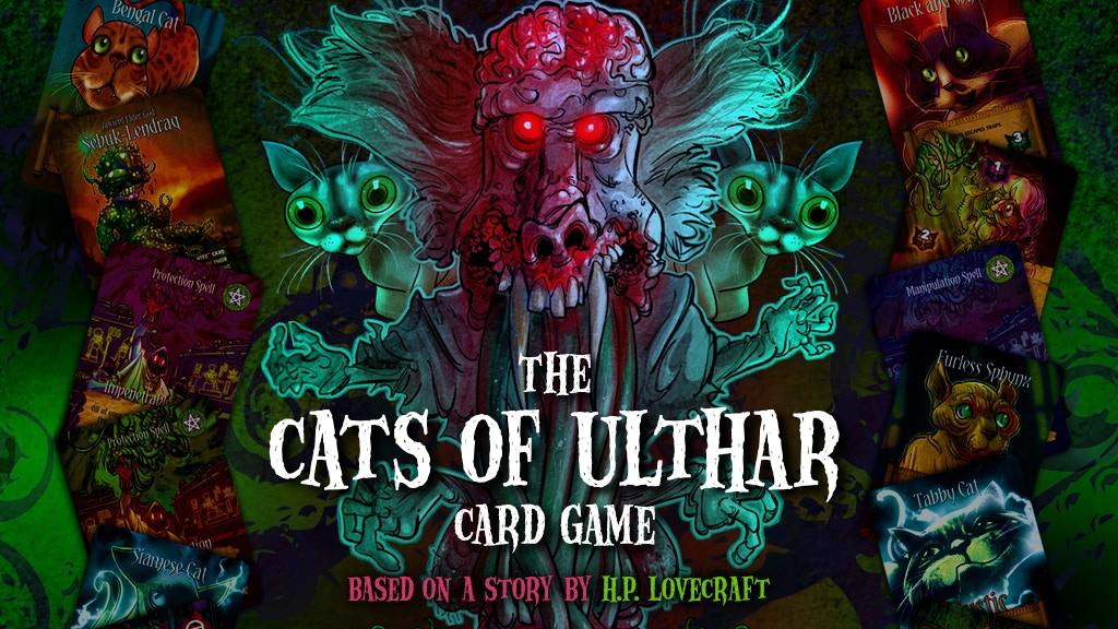 "H.P. Lovecraft's ""The Cats of Ulthar"" Card Game project video thumbnail"