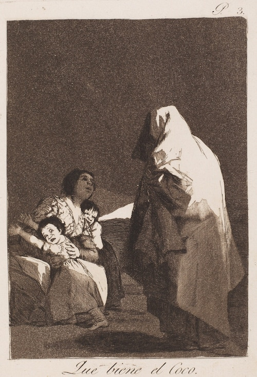 Francisco de Goya: depiction of Cucuy (Coco)