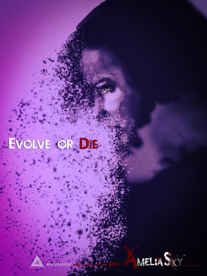 """Kickstarter """"Evolve"""" Poster"""