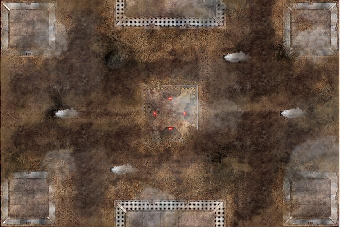 Battle mat : Fog Zone