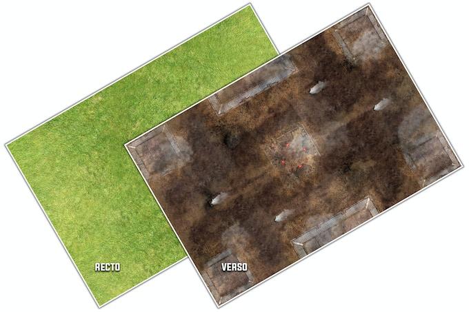 Green Filed VS Fog Zone