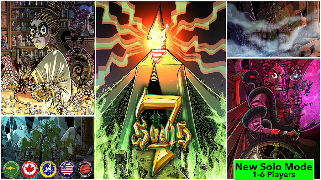 7 Souls (Rise of the Elder Gods) EN/FR/DE project video thumbnail
