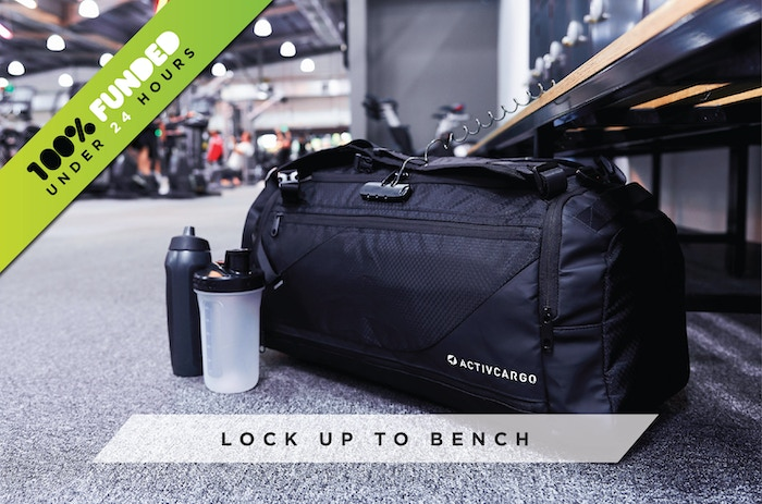 The only sports bag on the market with 3-layer anti-theft protection, keeping your items safe whilst you are focused on the game.