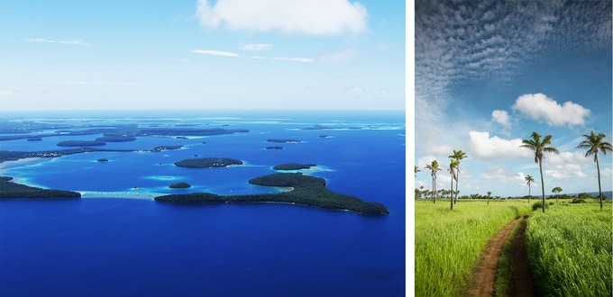The beautiful islands of Tonga.