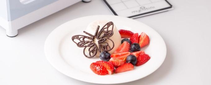 3D Choco highlight on your dessert
